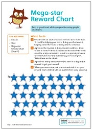 Mega Star Reward Chart 2