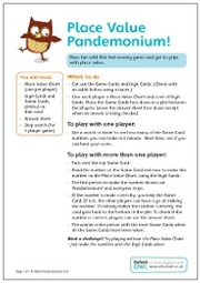 Place Value Pandemonium 2