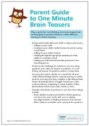 One Minute Brain Teasers 2