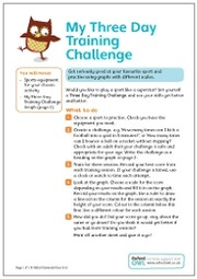 Three Day Sports Challenge 2